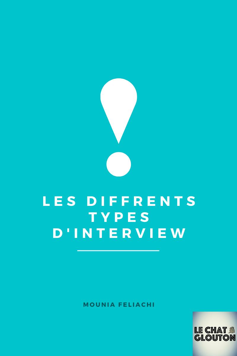 Module 2 - Les différents types d'interview