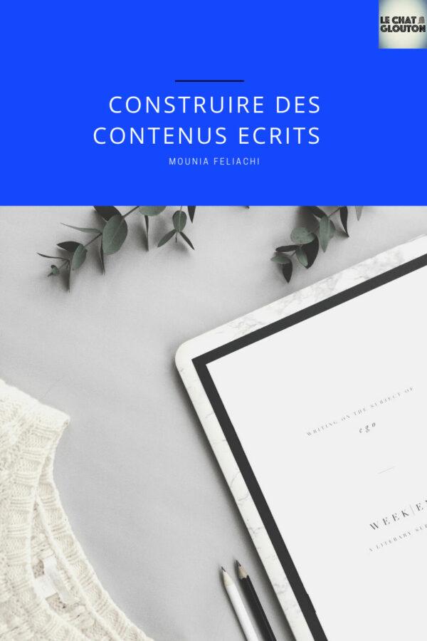 Module 3 - Construire des contenus écrits